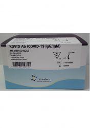 Kovid Ab (Covid-19 IgG/IgM) - 20 Testes - KOVALENTE