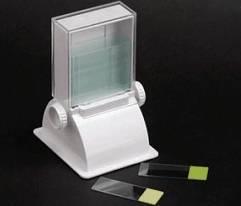 Dispensador para 72 Lâminas de microscopia 26 x 76mm
