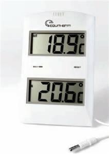 Termômetro Digital de Máxima e Mínima com Sensor de Temperatura Interna/Externa
